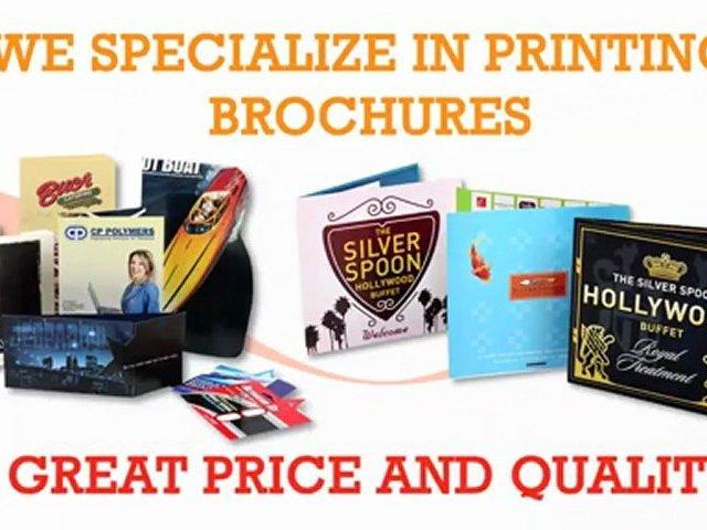 Brochures Printing in Los Angeles by Gold Image Printing
