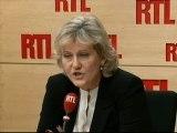 """Nadine Morano, ministre chargée de l'Apprentissage et de la Formation professionnelle, déléguée générale aux élections au sein de l'UMP : """"Rachida Dati n'a qu'à aller se présenter en Saône-et-Loire !"""""""