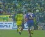 Le but magnifique de Patrice Loko, Nantes-PSG 94-95