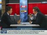 Luc Chatel invité de JJ Bourdin - RMC Info / BFM TV - 13 dec 2011