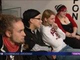 Journal TV  France 3 champagne Ardenne, vendredi 9 décembre, reportage sur Reims Slam d'Europe 2011 (Slam Tribu)