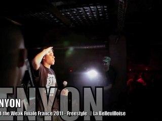 KENYON, Freestyle @ Finale EOW France 2011