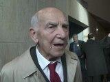 Stéphane Hessel assiste à l'adhésion de la Palestine à l'UNESCO