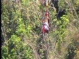 Simona's bungee jump from Bloukrans bridge / South Africa (216m, the world's highest)