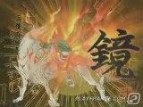 Okami (PS2) - La déesse Amaterasu en action