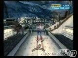 Torino 2006 (PS2) - Une épreuve de saut à ski.