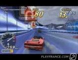Outrun 2006 : Coast 2 Coast (PSP) - Deux courses de la version PSP du jeu !