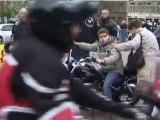 TELETHON 2011 : Randonnées de 225 motos pour le Téléthon à Lumbres (Pas de Calais - 62) !