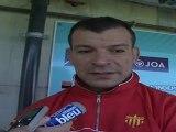 itw avant match Cavalieri Prato vs USAP - déc 2011