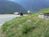 les alpes italiennes en moto