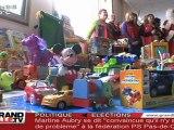 Noël : Des Policiers au chevet des enfants malades (Lille)