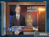 Bears' Hurd Arrested on Federal Drug Charges