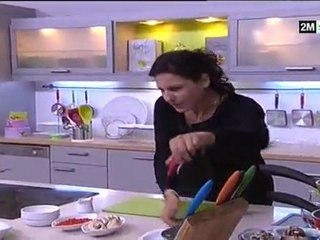 Choumicha Recette - Poulet Farcis aux épinards