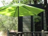 Camping Club de Soulac : location Cottage 4 étoiles pour 5 personnes - 2 chambres - 2 salles de bains - TV