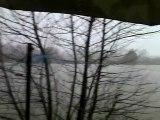 chuzelles sous une averse de neige