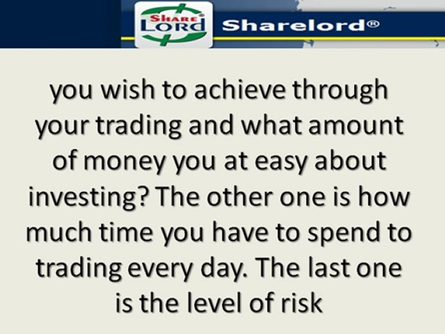 Successful Trading Strategies