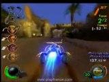 Jak X : Combat Racing (PS2) - Une des premières courses du mode Aventure.