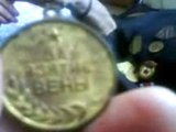 BML17050811005 Ida Rozin on her WW2 Red Army Medals