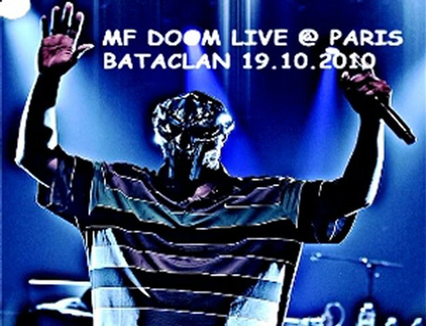 MF Doom Live @ Bataclan Paris 19.10.2010 Change The Beat - Rhymes Like Dimes