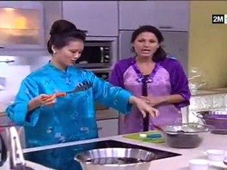 Chhiwat choumicha recettes salade champignons cuisine chinoise