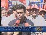 López: Estamos decididos a pasar a la ofensiva en materia de seguridad ciudadana