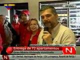 (VIDEO) Gobierno Bolivariano entrega 72 viviendas dignas en Barquisimeto