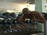 Dos-Lombaires ► 13 x 65 Kg ◄ Entrainement Quotidien Yannis Malahël Série Horizontale Suspension Salle Musculation Sport Jarry Fitness Club Moving Guadeloupe 17.12.2011 Samedi 16h