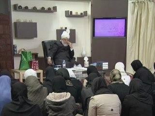 Gulshan-e-Waqfe Nau (Lajna) Class: 27th November 2011 (Urdu)