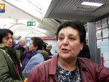 La grève des agents de sureté aéroportuaire se durcit, les usagers en colère