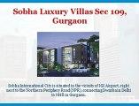 Sobha International City, [+91-9560297002], Villa in Gurgaon, Sobha City Gurgaon