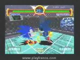 Sonic Gems Collection (PS2) - Un petit aperçu de Sonic the Fighters !