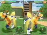 Dragon Ball Z Budokai Tenkaichi (PS2) - Vegeta et Goku dans le mode versus