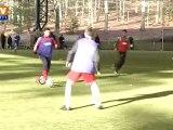 De jeunes footballeurs français font leur show devant les Américains