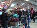 4e jour de grève d'agents de sûreté, 30% des vols annulés à Lyon