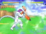 Dragon Ball Z : Shin Budokai (PSP) - Krillin vs Freezer
