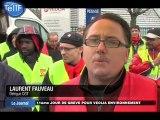 Grève chez Veolia Environnement (Saint-Ouen-l'Aumône)