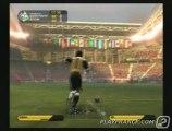 Coupe du Monde FIFA 2006 (PS2) - Extrait d'un match opposant le Nicaragua au Qatar !