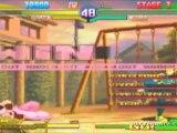 Street Fighter Alpha 3 MAX (PSP) - Chun-Li vs Dan