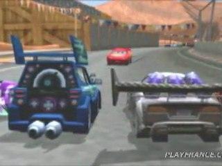 Cars (PSP) - Le début du mode histoire