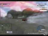 Test Drive Unlimited (PS2) - Une course avec quatre concurrents.