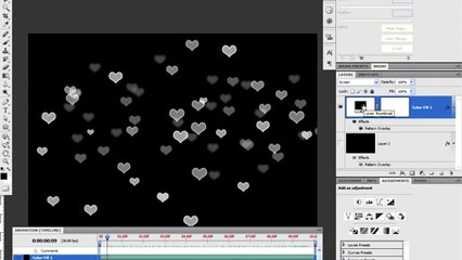 Create a Snow Fall Animation in Photoshop