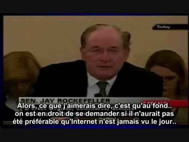 Jay Rockefeller regrette l'invention d'Internet
