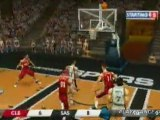 NBA Live 08 (PSP) - Cavaliers vs Spurs
