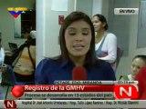 (VIDEO) D Frente Registro del Gran Mision Hijos de Venezuela 19.12 2011