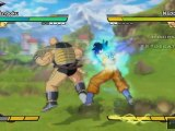 Dragon Ball Z : Burst Limit (PS3) - Sangoku vs Nappa