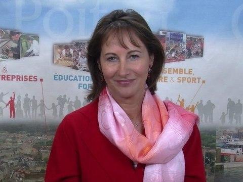 Les voeux 2012 de la Présidente de la Région Poitou-Charentes