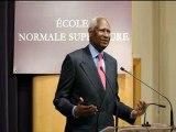 Conférence d'Abdou Diouf à l'Ecole Normale Supérieure