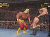 WWE Legends of WrestleMania (PS3) - Hulk Hogan vs André