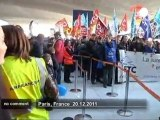 Airport security staff strike spreads in France - no comment