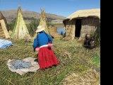 Pérou 05 Lac Titicaca, Iles flottantes Uros, Ile Taquile, Puno